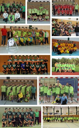 Handball-Collage