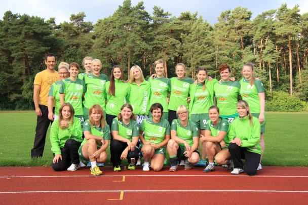 GSV Mannschaftsbild Frauen 2014/2015