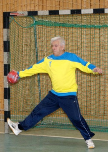 Wolfgang Schmidt in Aktion