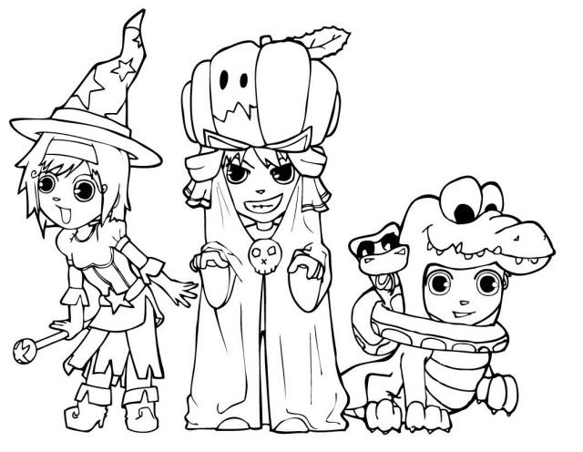 Wunderbar Halloween Bilder Kinder Fotos - Ideen färben - blsbooks.com