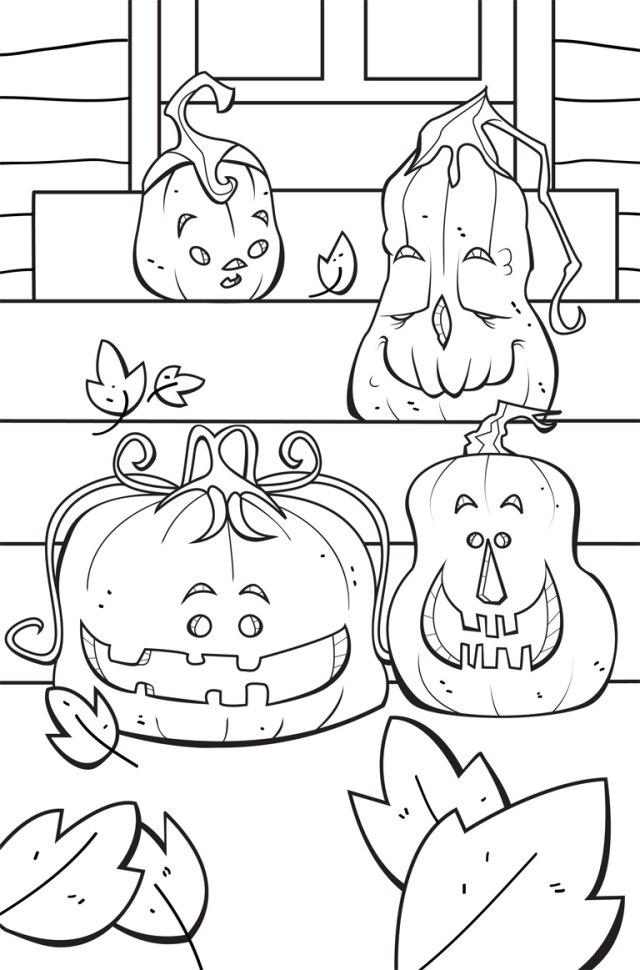 Atemberaubend Halloween Bilder Zum Ausmalen Ideen - Entry Level ...