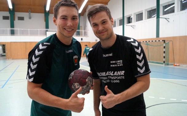 Toni Büttner und Marcus Schwiderski 1