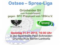 Handball Grünheide_Auswärts gegen BFC Preussen 30.01.2016_16.00