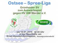 Handball Grünheide_Auswärts gegen HV GW Werder 16.01.2016_18.30