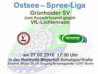 Handball Grünheide_Auswärts gegen VfL-Lichtenrade 27.02.2016 17.30