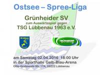 Handball Grünheide_Auswärts gegen TSG Lübbenau 02.04.2016_18.00
