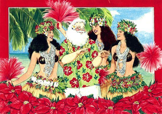 weihnachten feiern auf hawaii handball in. Black Bedroom Furniture Sets. Home Design Ideas