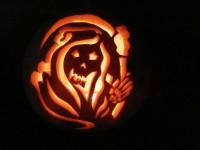 Schreckhafte Halloweenwitze
