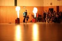Handball – Einlauf mit Feuer (werk)