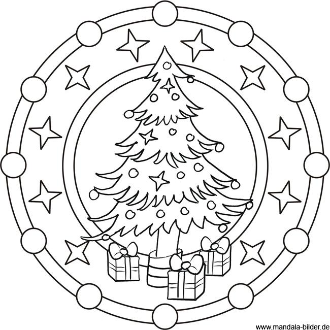 mandala-ausmalbild-weihnachten - handball in grünheide