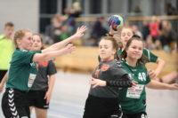 Mächen mit Minimalbeteiligung am Turnier in Berlin Hellersdorf