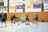 2. Männer: Grünheider Zweite gewinnt erstes Heimspiel – 26:20 in Löcknitzhalle gegen den HC Neuruppin – Punkte- und Angelgeschenk zum 50. von Trainer René Lowack